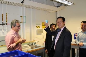 UBC President Ono Tours HATCH