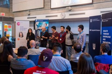 ICICS Supports Hatching Health Hackathon